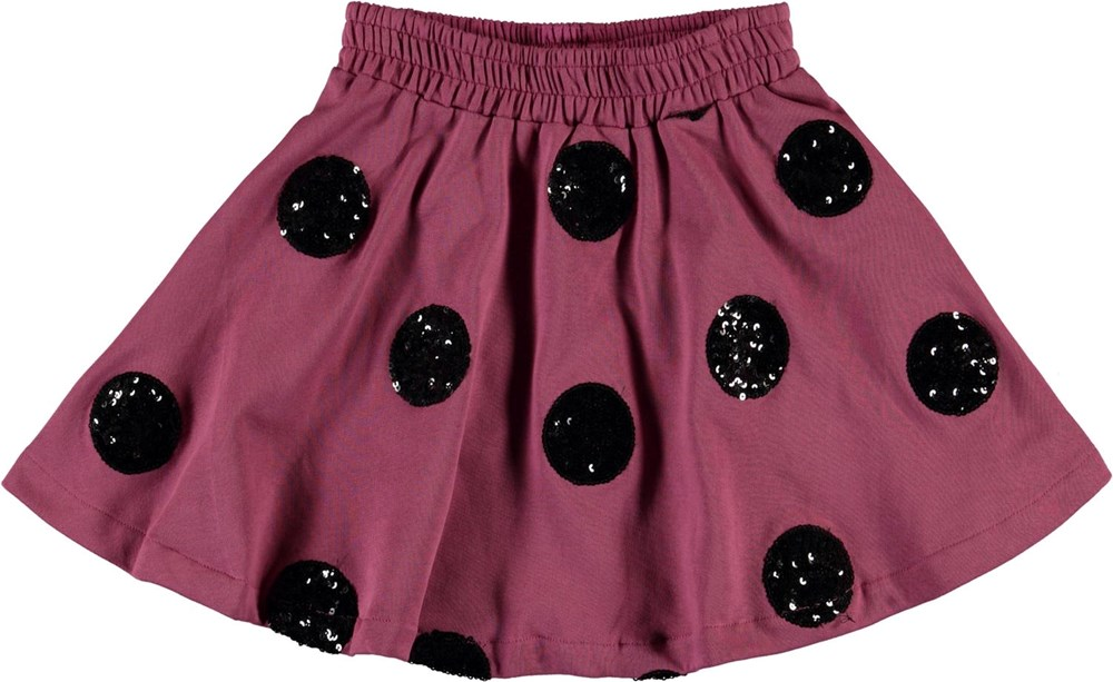 Barbera - Sequin Dots - Skirt with sequin circles
