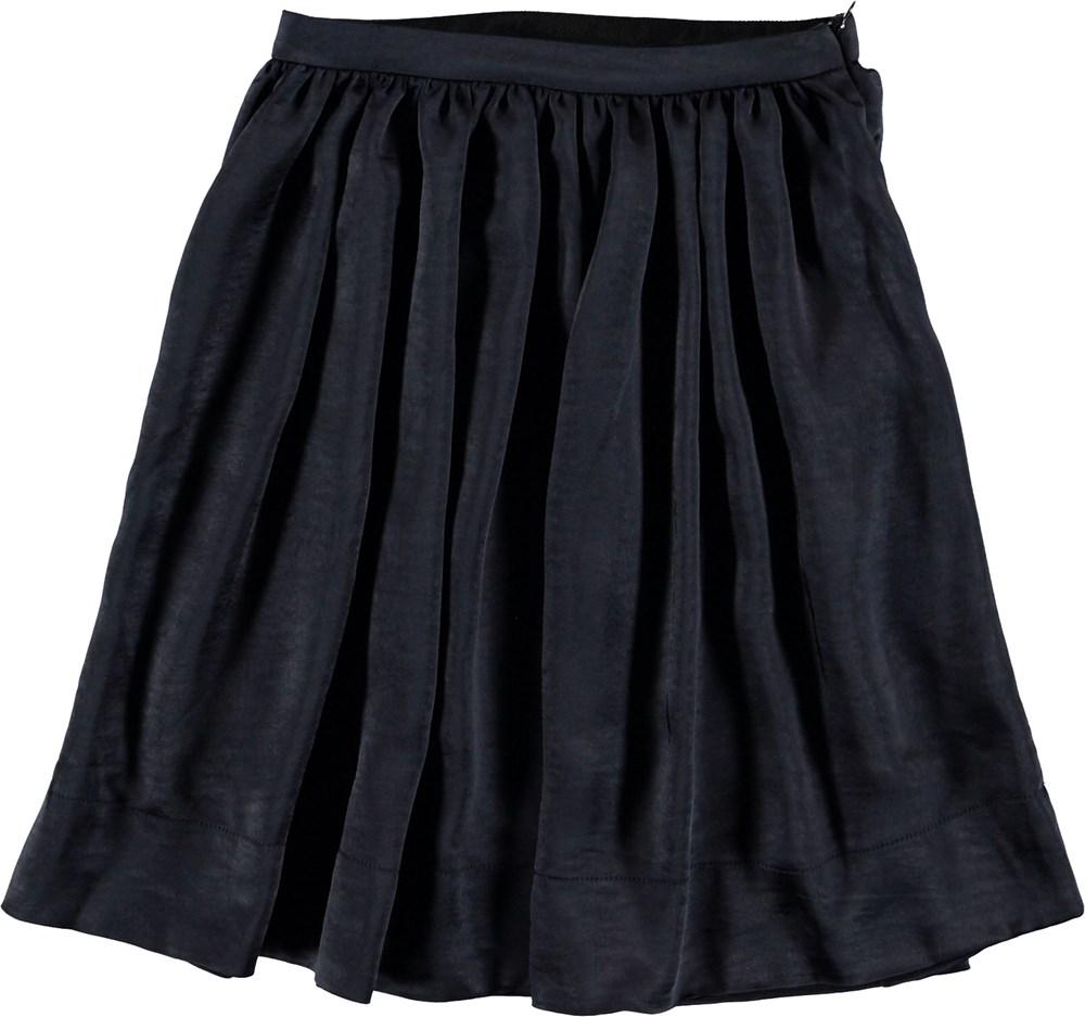 Beli - Sky Captain - Dark blue midi skirt.