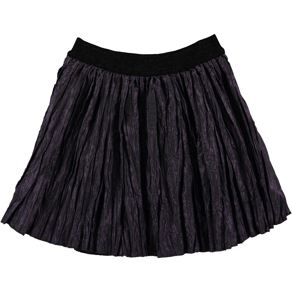 Belinda - Nightshade - dark purple skirt