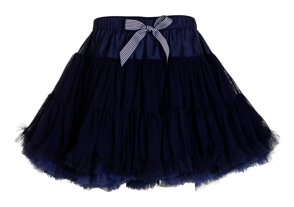 Bella - Navy - molo's classic, big tulle skirt