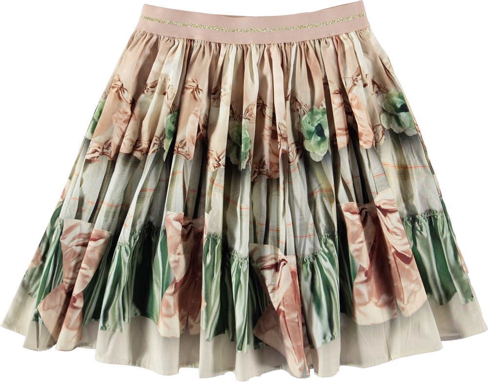 Bellis - Vintage - Skirt with bows.