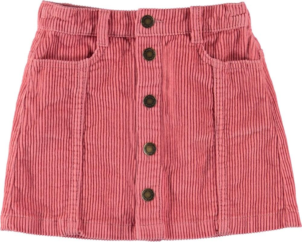 Bera - Rosewater - Rose corduroy skirt.