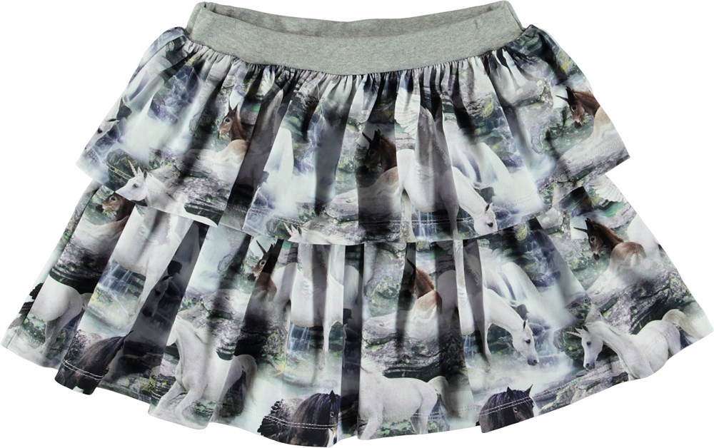 Bini - Mythical Creatures - Skirt with unicorn.