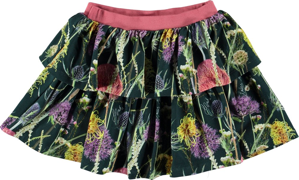 Bini - Sleeping Beauty - Skirt with flowers.
