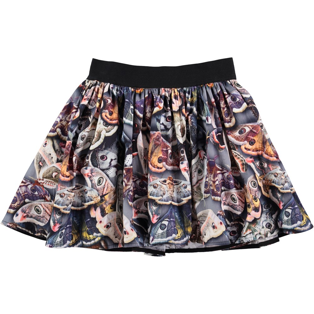 Bonnie - Amazing Moth - skirt with digital windmill print