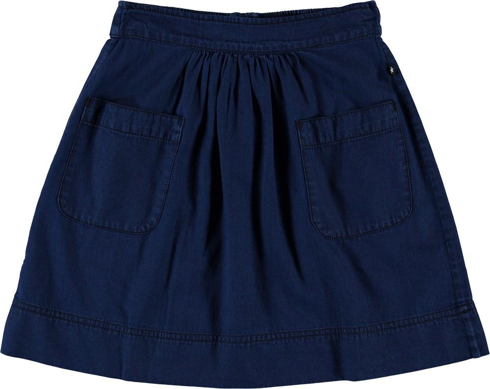 Bonnie - Pure Indigo - Blue denim skirt