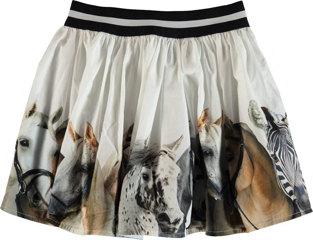 Brenda - Horse Stripe - Skirt