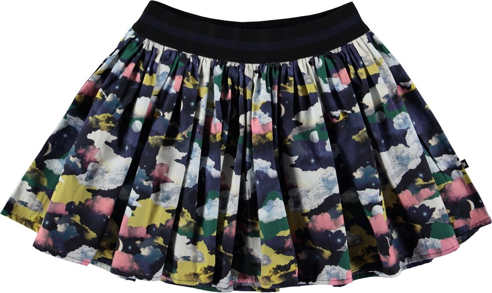 Brenda - Mini Moons - Skirt with moon print.