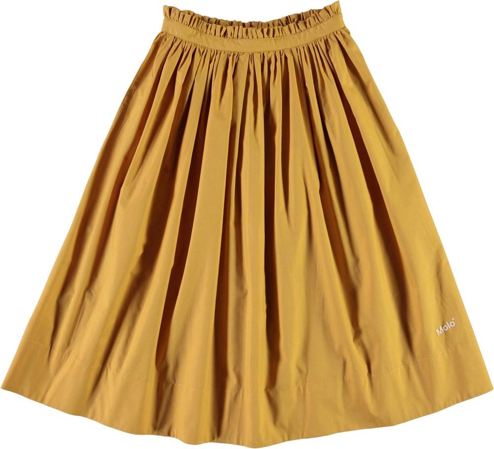 Brisa - Honey - Yellow organic skirt
