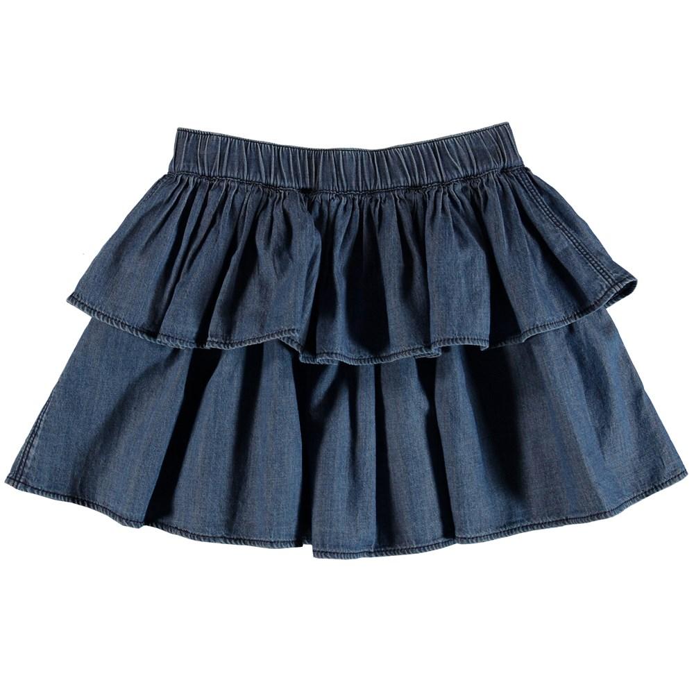 Brooke - Washed Indigo - Skirt