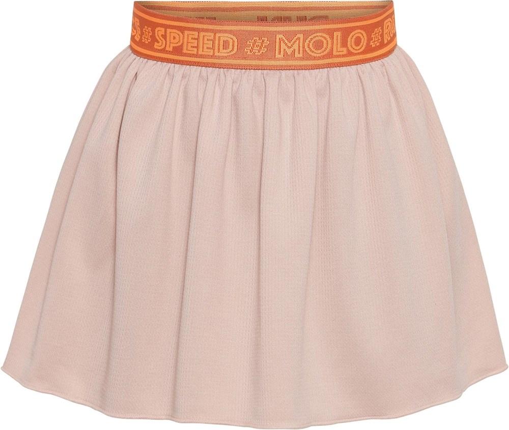 Ola - Petal Blush - Light pink sports skirt with shorts