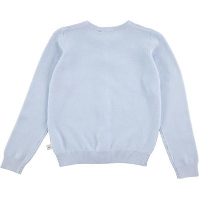 18bf74c6 Georgina - Hazy Blue - light blue cardigan with buttons - Molo