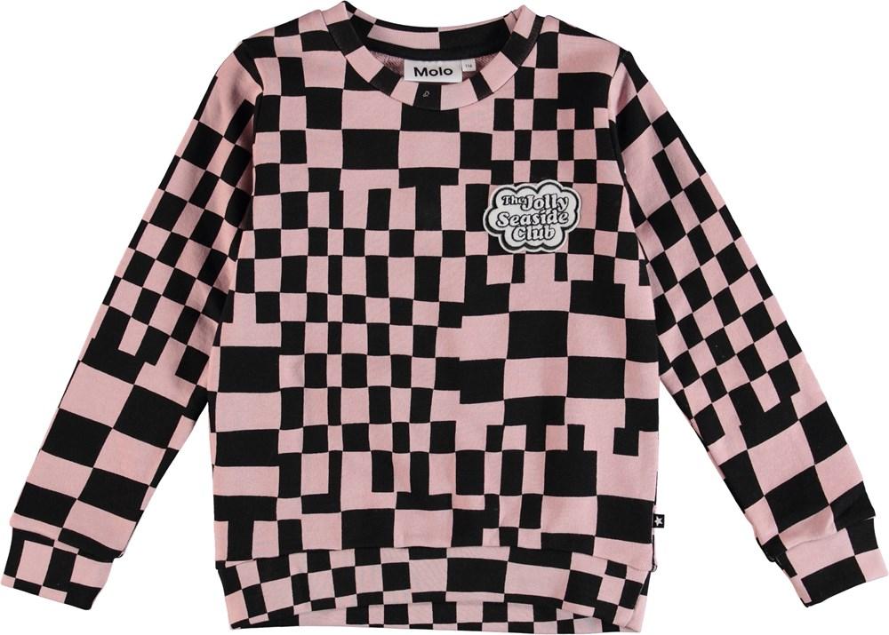 c2908209 Maya - Grid Check - Sweater - Molo