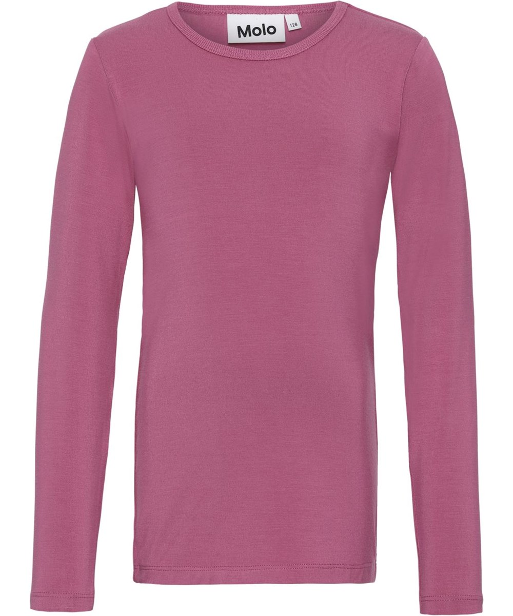 Ramona - Wildrose - Long sleeve fuchsia top