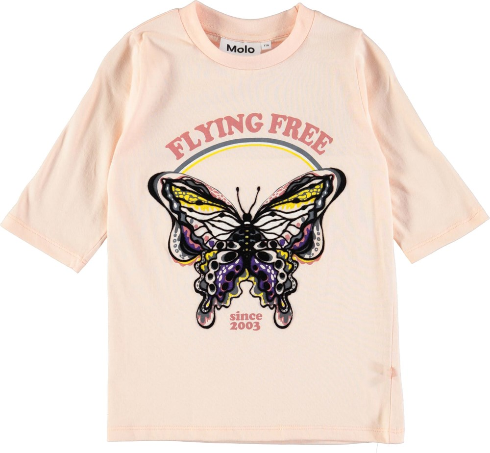 Ranita - Dawn -  T-shirt with 3/4 length sleeves and with butterfly