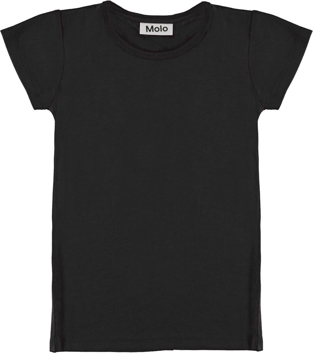 Rasmine - Black - Black t-shirt
