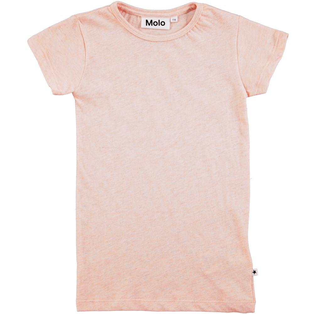 Rasmine - Cameo Rose - short sleeve rose coloured t-shirt