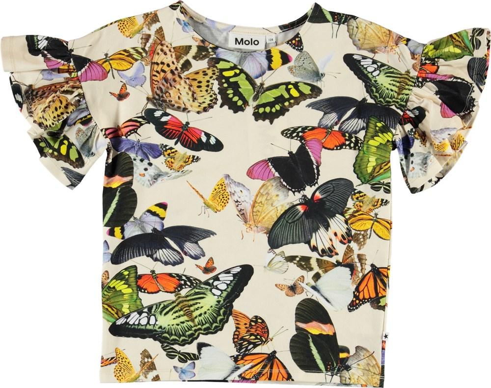 Rayah - Papillon - Organic butterfly t-shirt