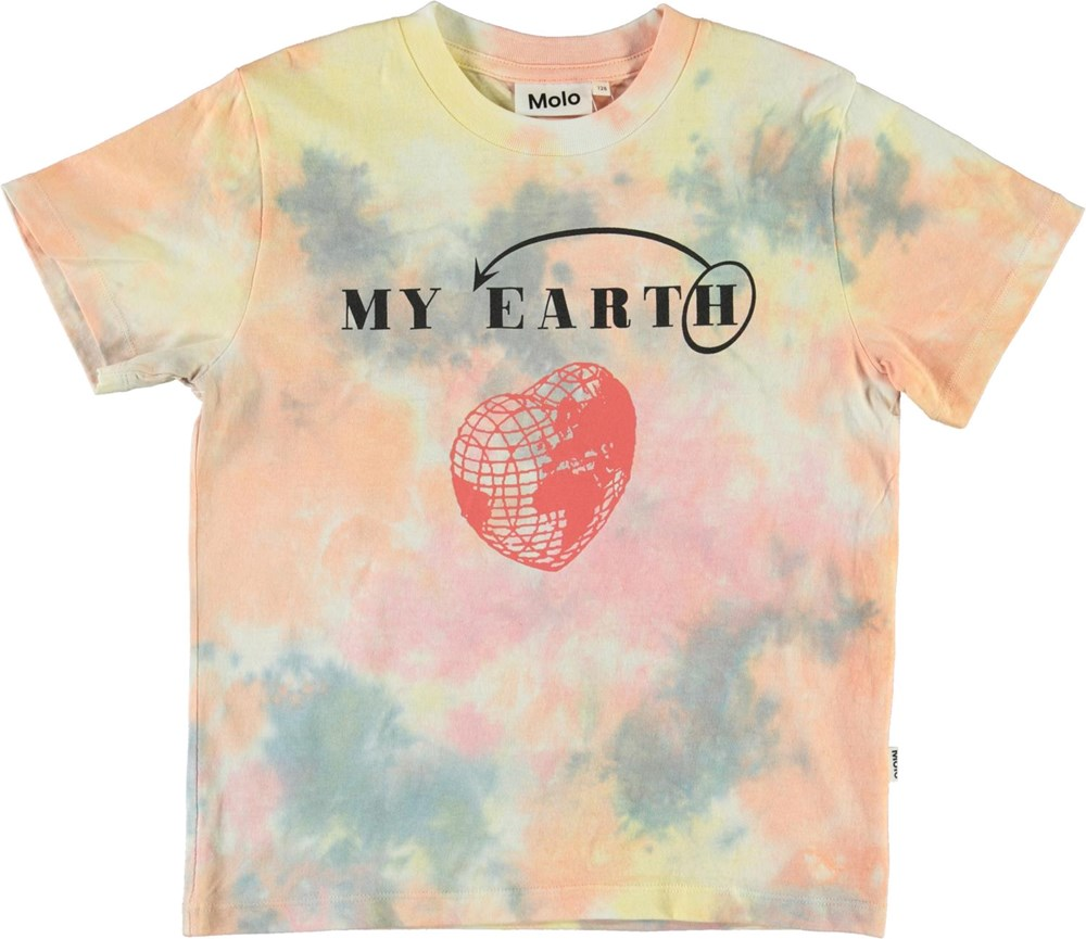 Reeve - Summer Tie Dye - Tie-dye pastel t-shirt