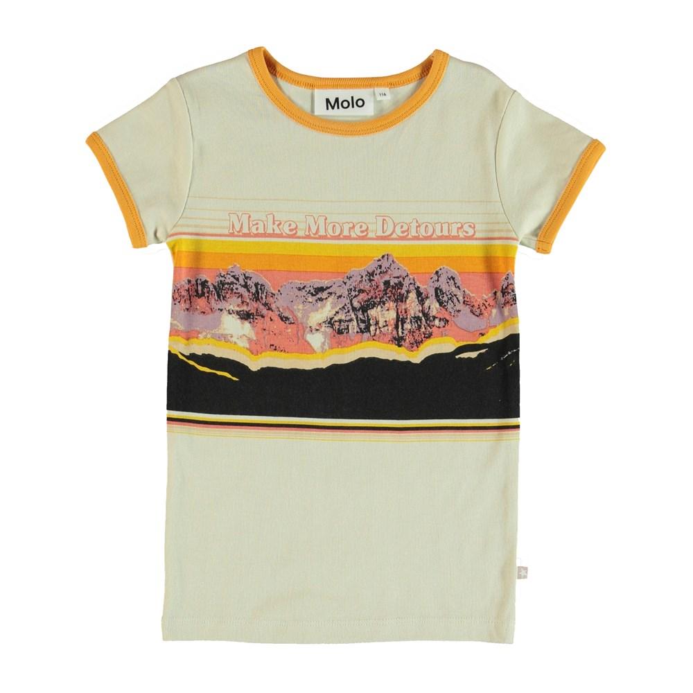 Rhiannon - Pearled Ivory - T-Shirt