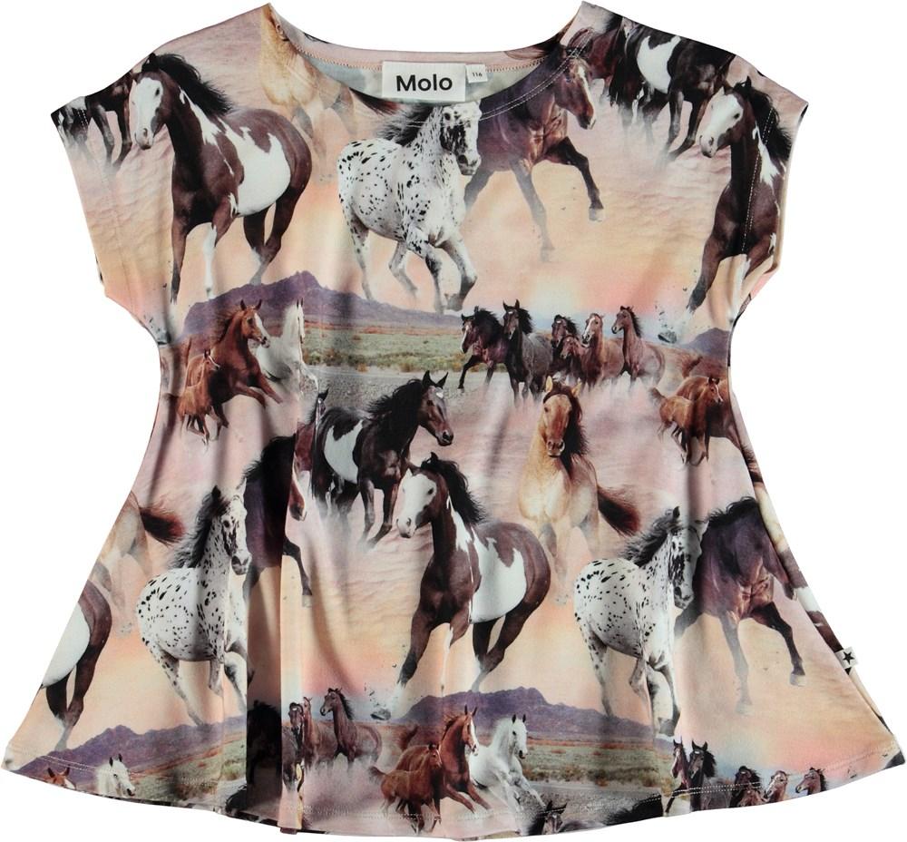 Riva - Wild Horses - T-Shirt Wild Horses