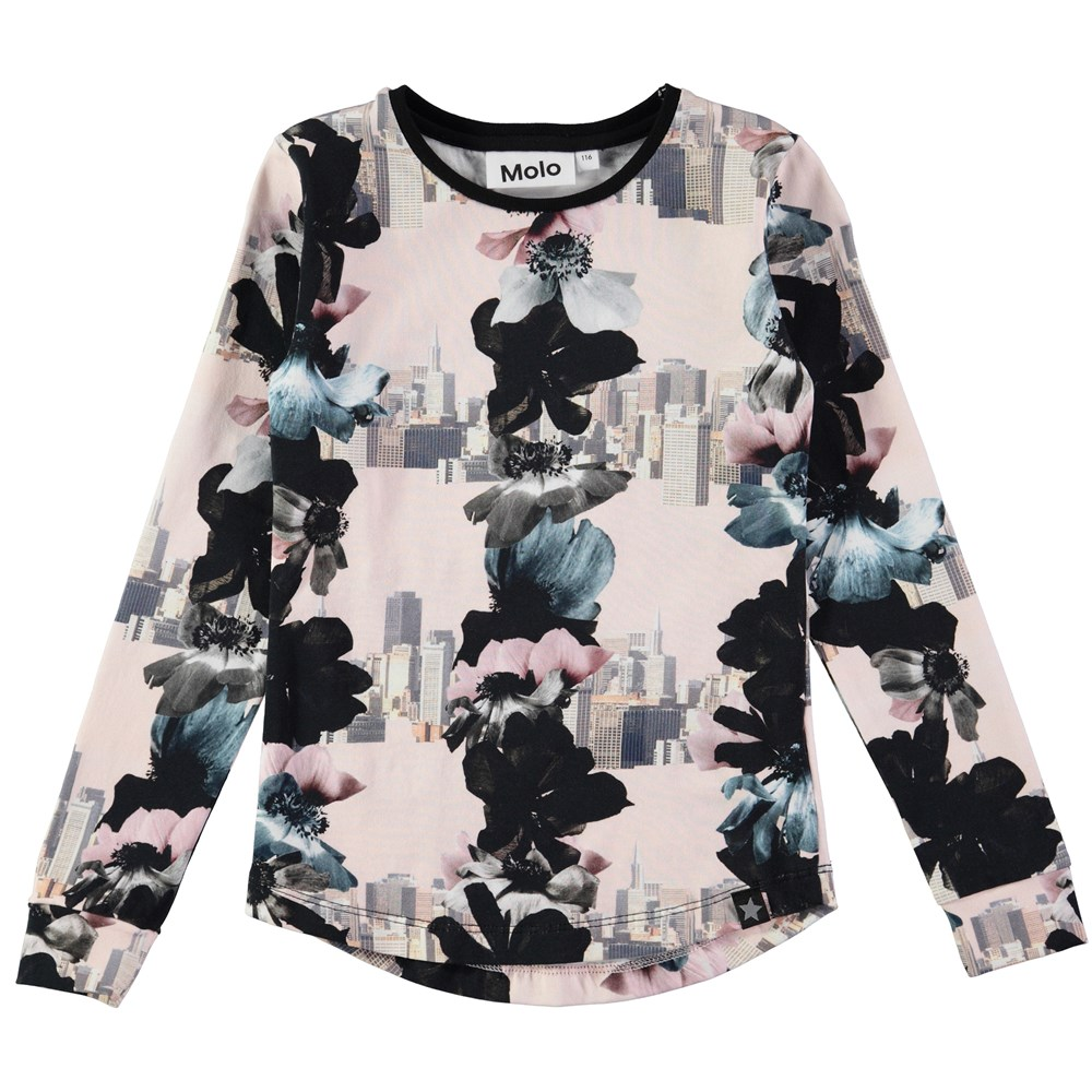 Roxana - Dreamscape - long sleeve top with flowers