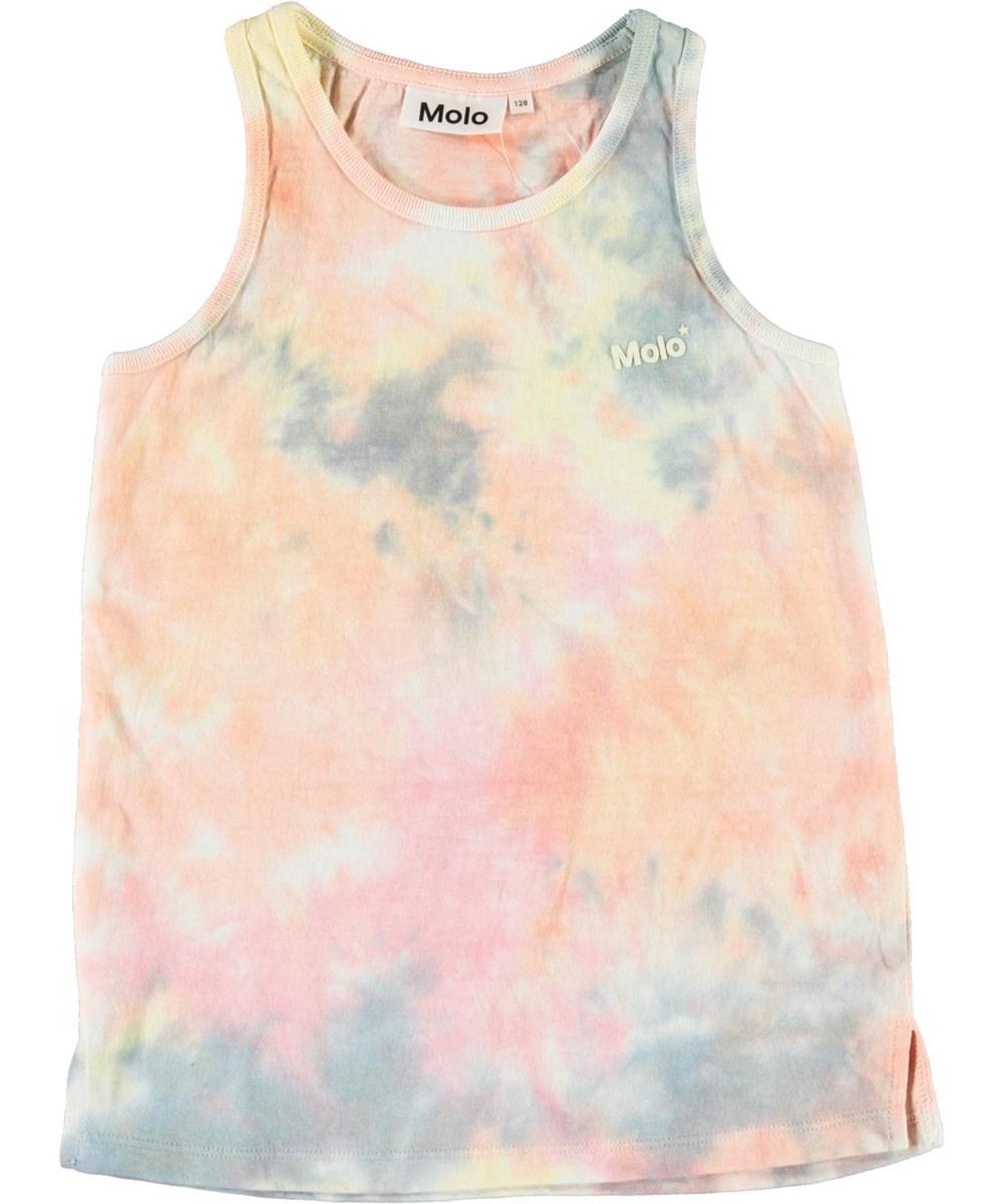 Roxanne - Summer Tie Dye - Tie-dye vest in pastel colours