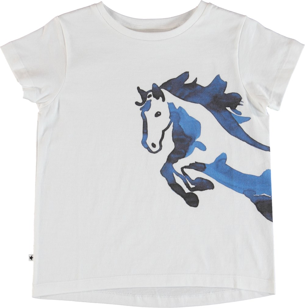 Rusalka - Water Colour Horse - T-Shirt