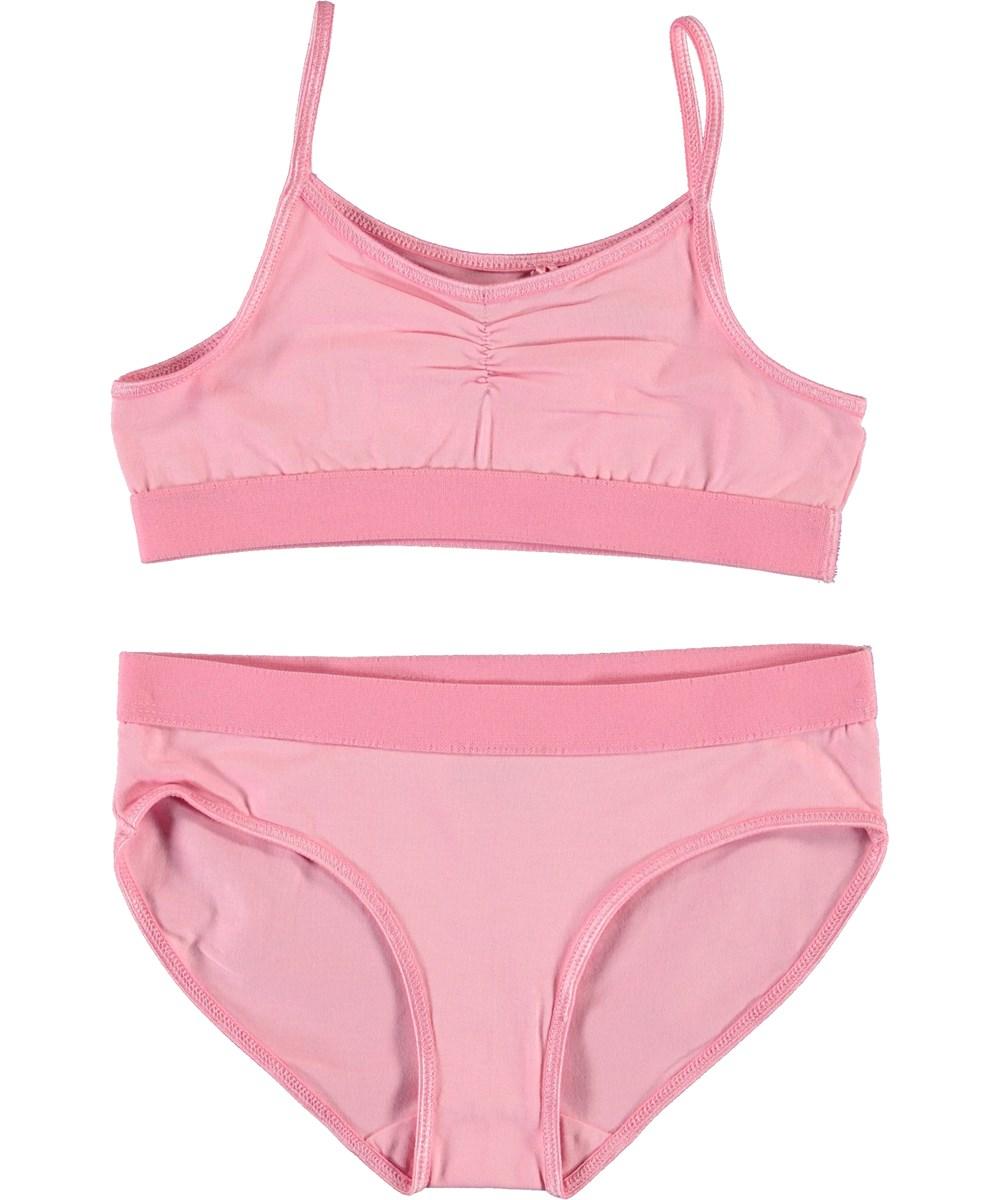 Jinny - Kawaii - Pink organic underwear