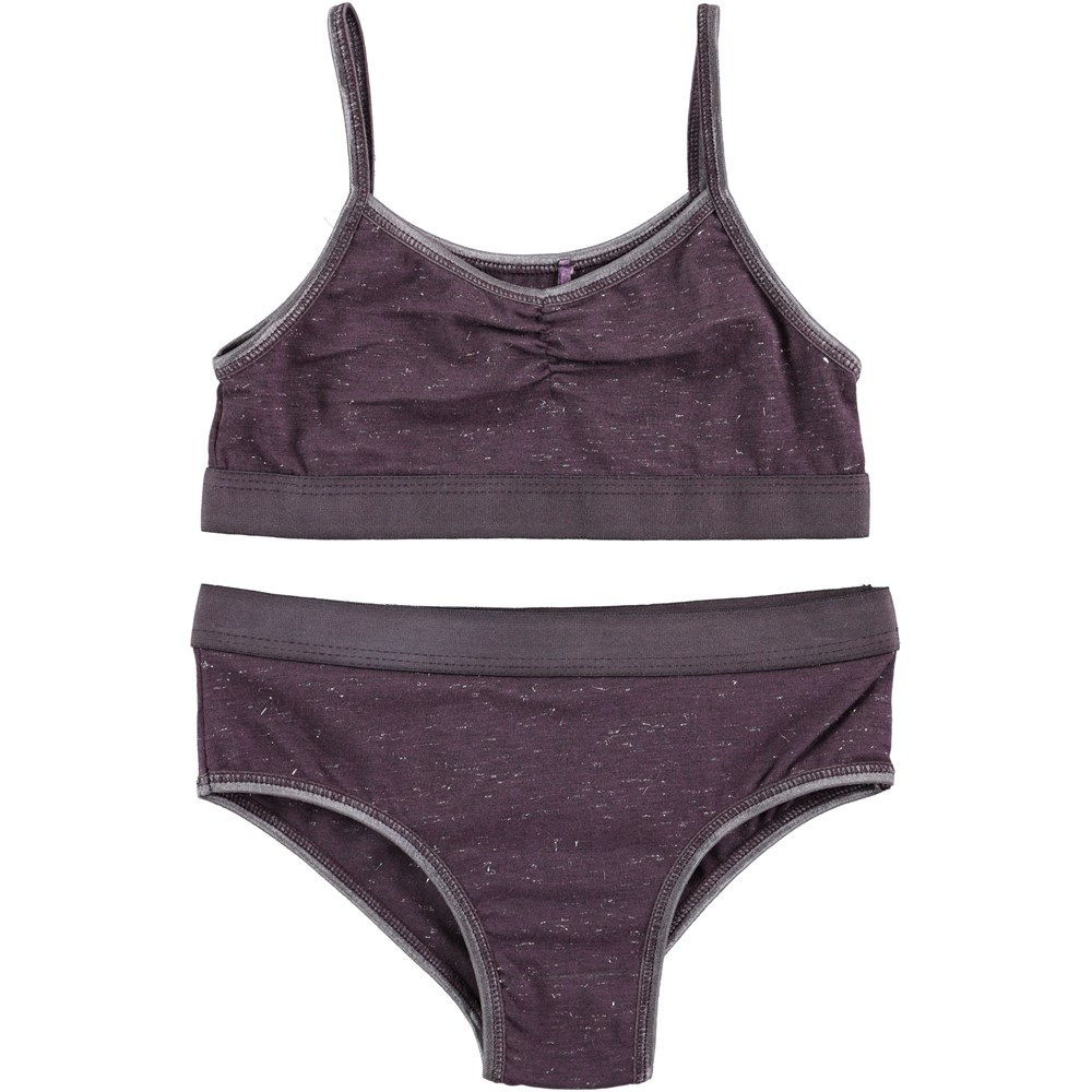 Jinny - Nightshade - purple underwear set