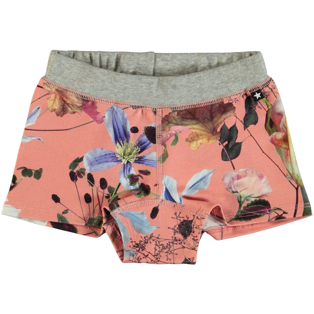 Joanna - Flowers Of The World - Flower knickers with legs.