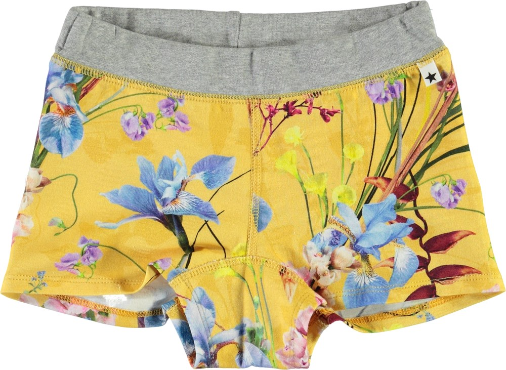 Joanna - The Art Of Flowers - Organic knickers with floral print