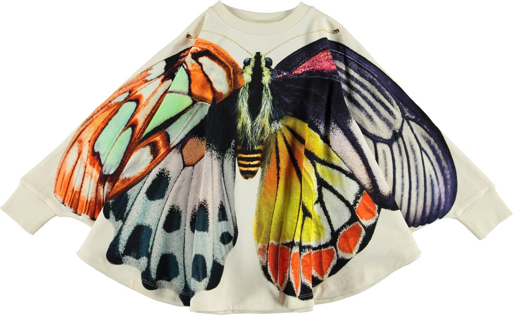 Marcella - Papillon Geant - Poncho met vlinderprint