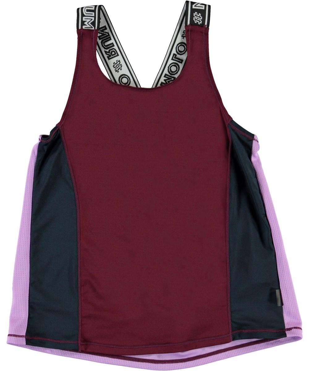 Oriana - Colour Block - Kleurrijke geblokte sporthemdje