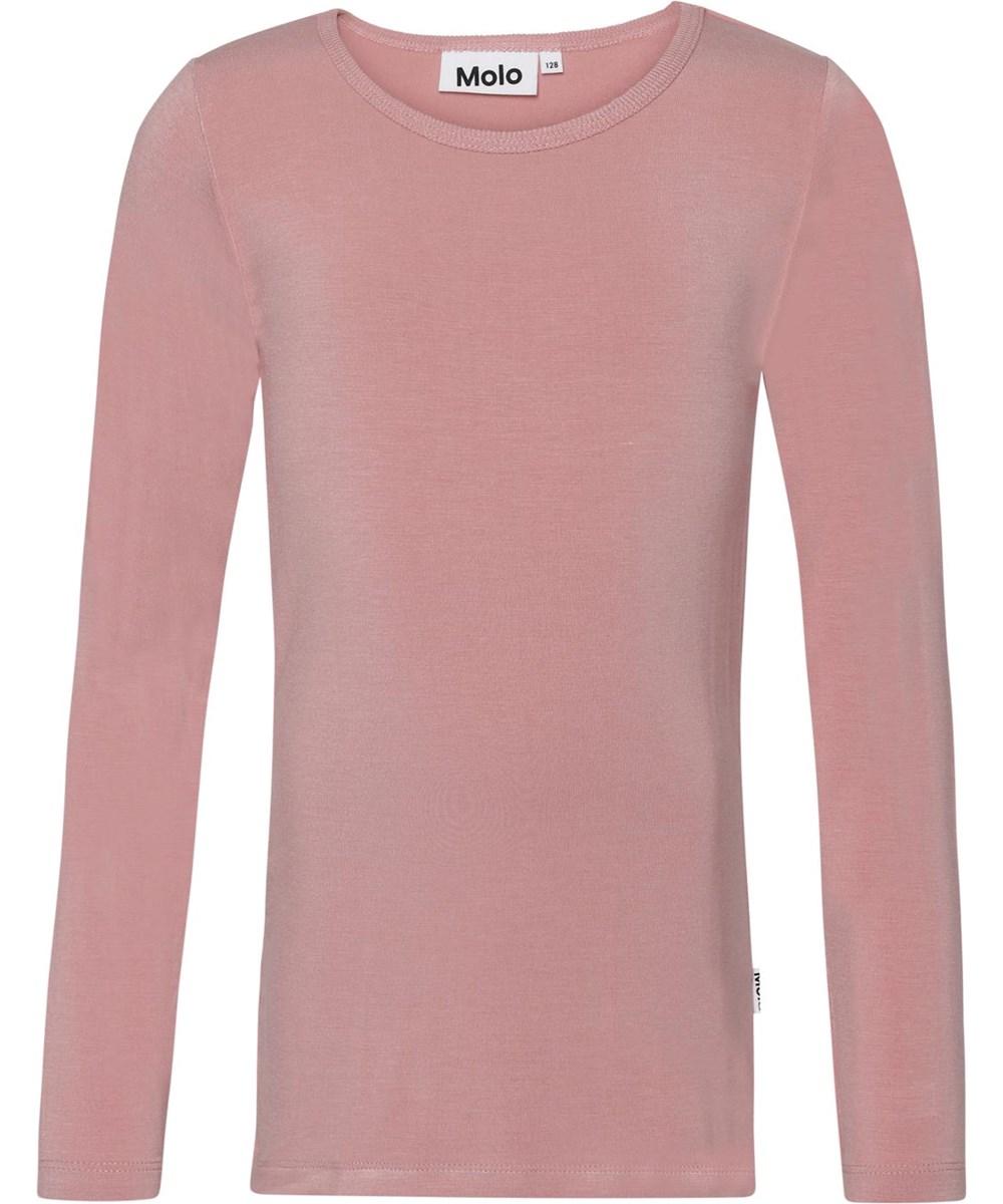 Ramona - Rosequartz - Lichtroze jersey shirt