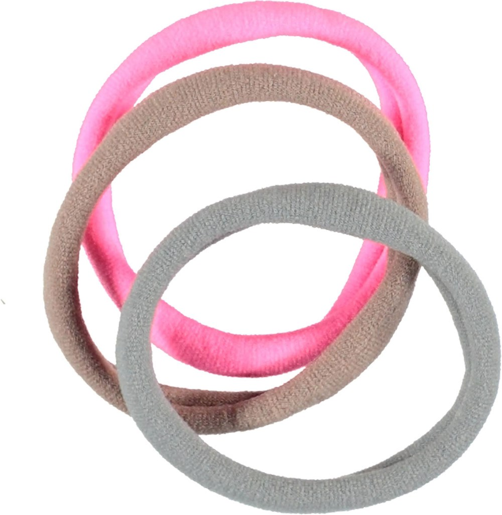 Basic Elastics - Petal Blush - Hair elastics.