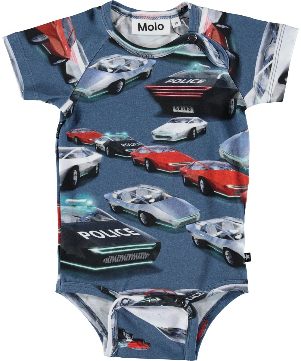 Feodor - Self-Driving Cars - Baby body med biler.