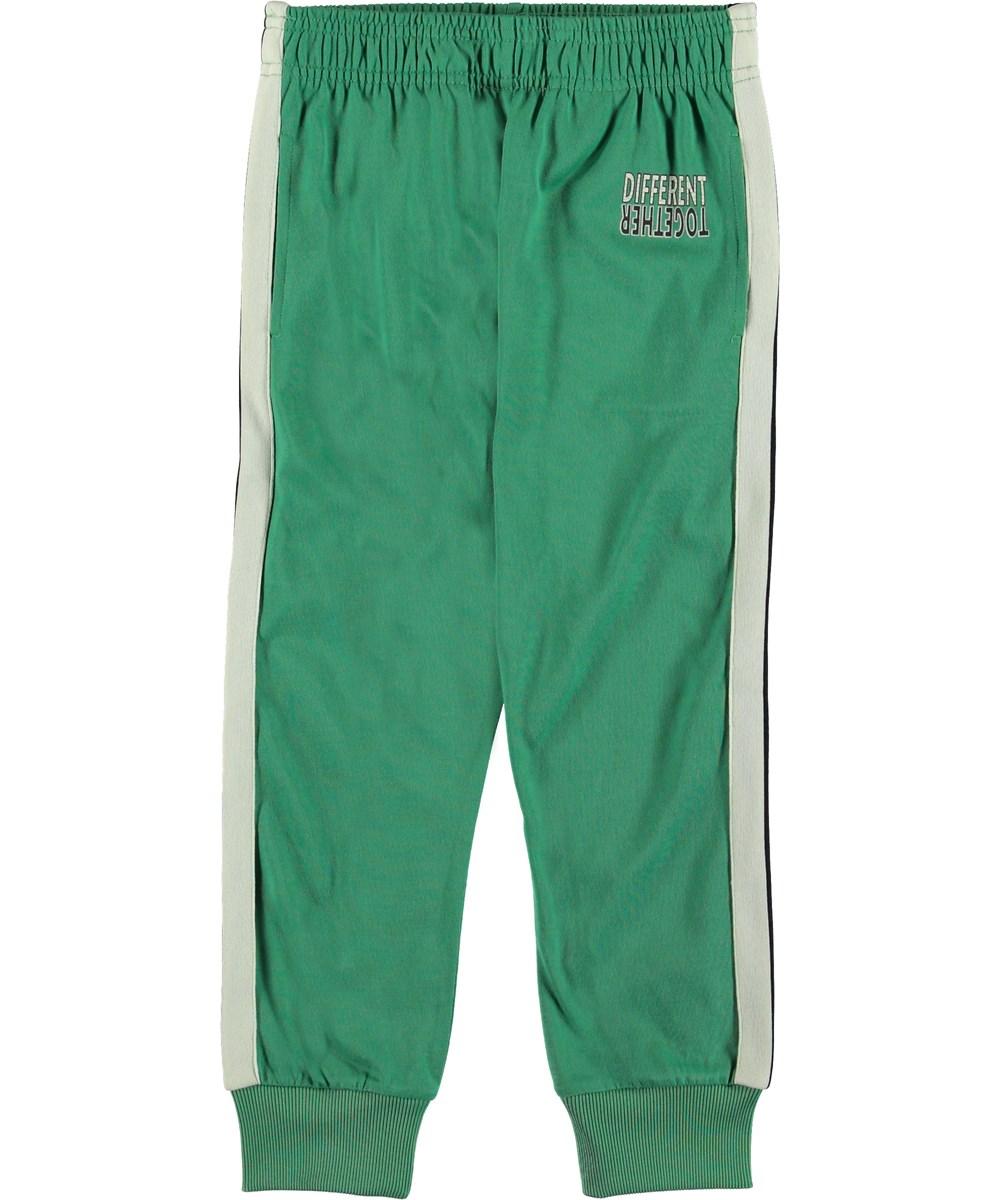 Anto - Night Vision - Trackpants grøn sporty bukser.