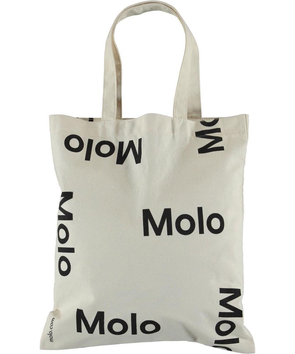 Logo tote bag - White -