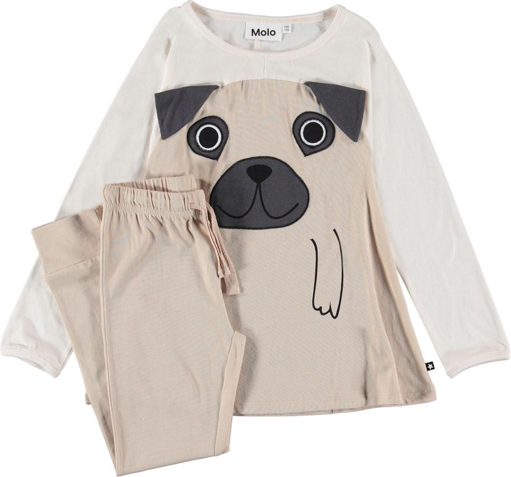 LilPup - Moon Light - Pyjamas with dog motif.