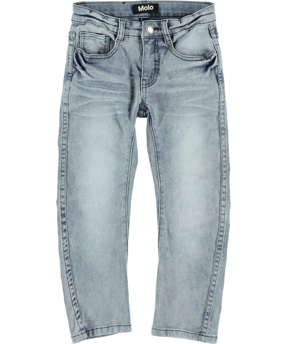 Alonso - Ash Blue - Light blue baggy jeans.