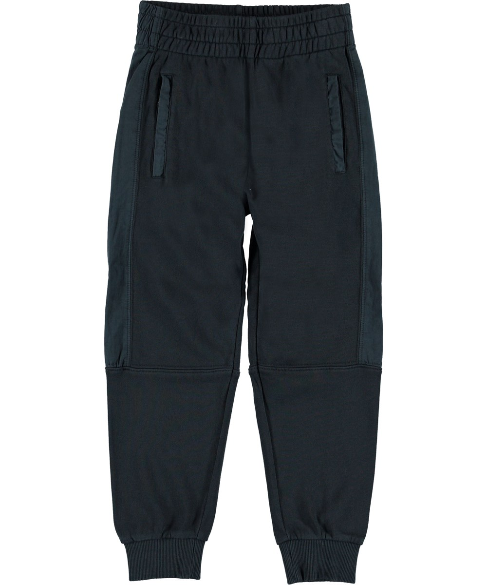 Alzo - Carbon - Track pants blue sporty trousers.