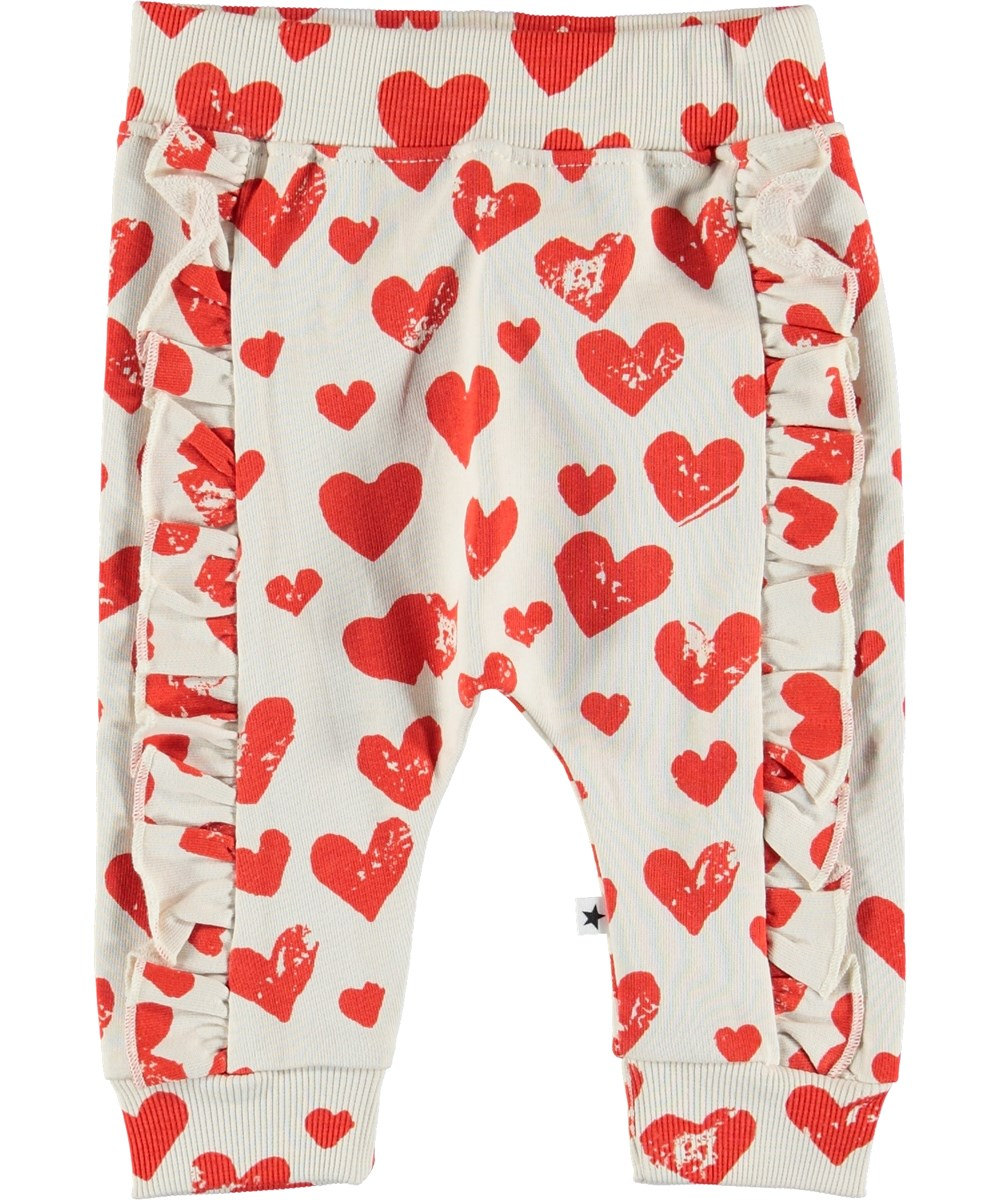 Safira - All Is Love - Heart print baby sweater