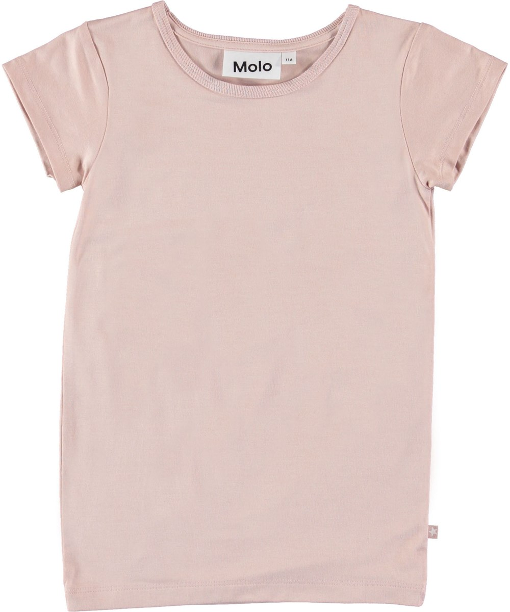 Rasmine - Petal Blush - Rose t-shirt.