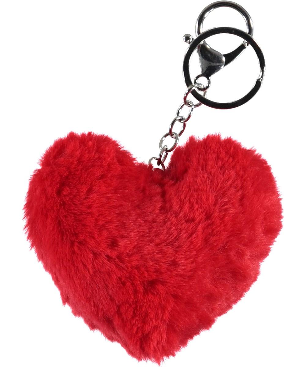 Heart Keychain - Cherry Tomato - Hjerte nøglering.