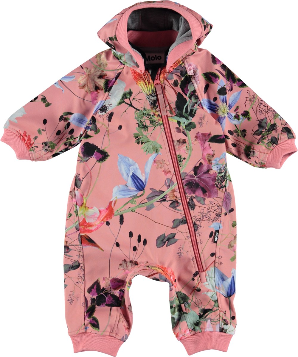 Hill - Flowers Of The World - Baby Suit - Flowers Of The World