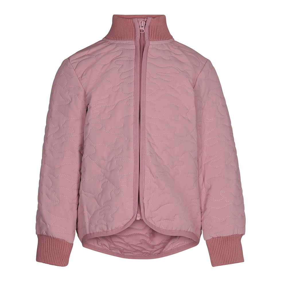 Husky - Ash Rose - Sporty thermal jacket in dark rose