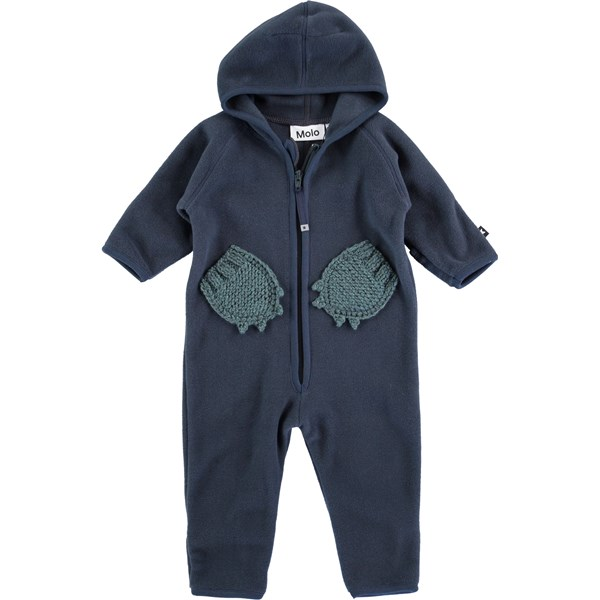 e0d316758ca Udo - Sky Gray - Grey fleece suit - Molo
