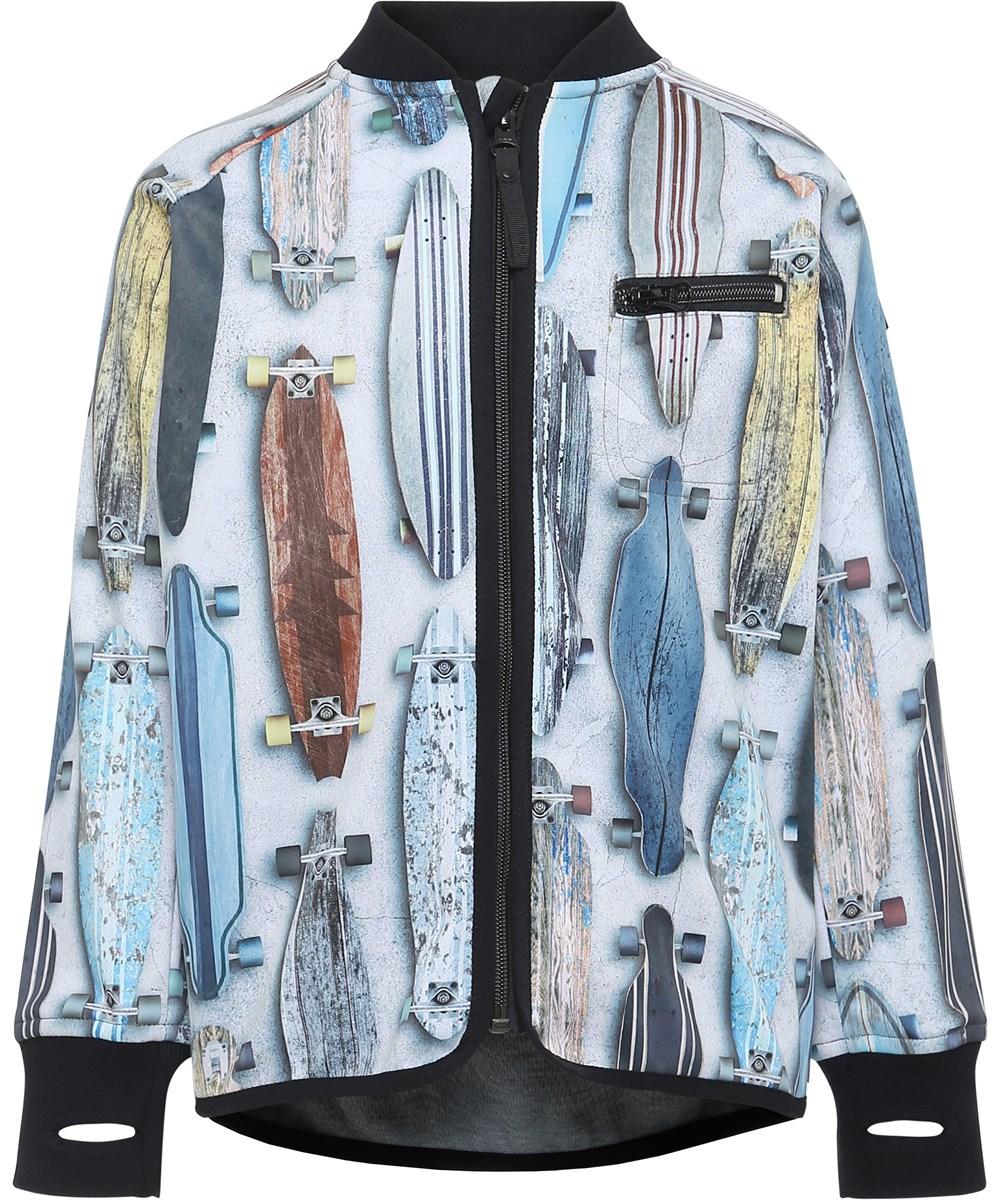 Ulas - Striped Long Boards - Jacket