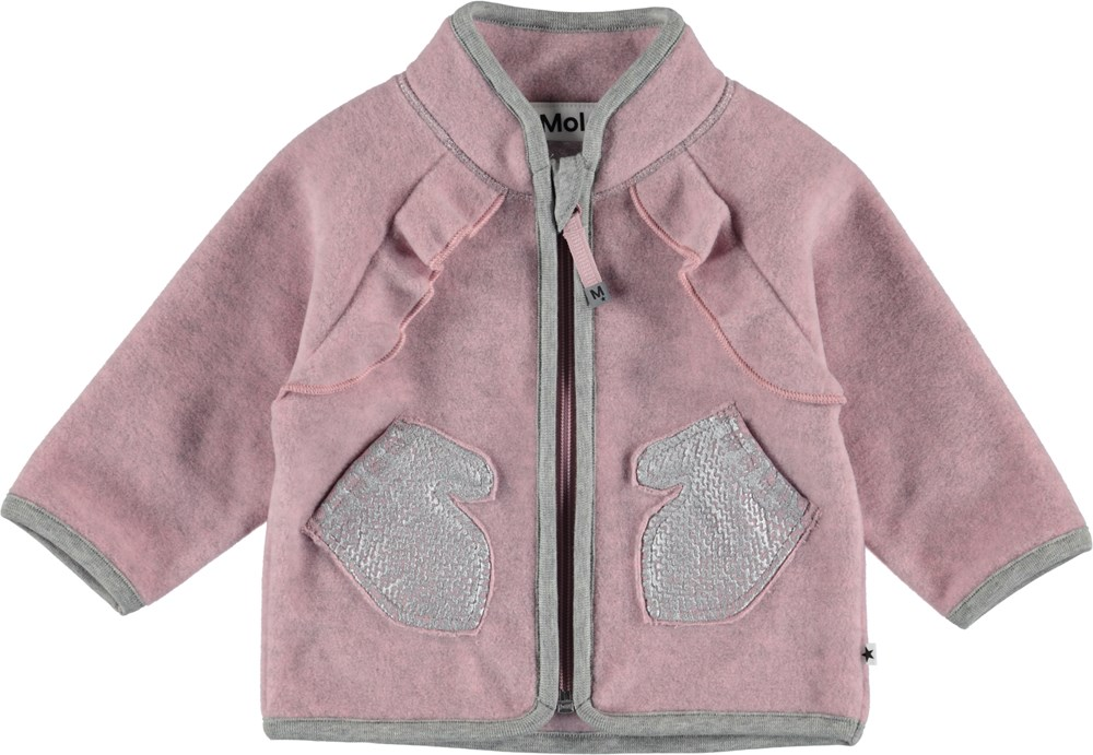 Uli - Pink Granite - Baby Jacket